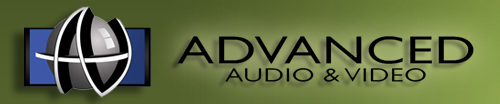 Advanced Audio and video logo 2338 Whitesburg Drive, Hunstville AL, 35801